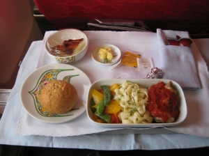 Malaysia airlines flight meal, by Jonom1